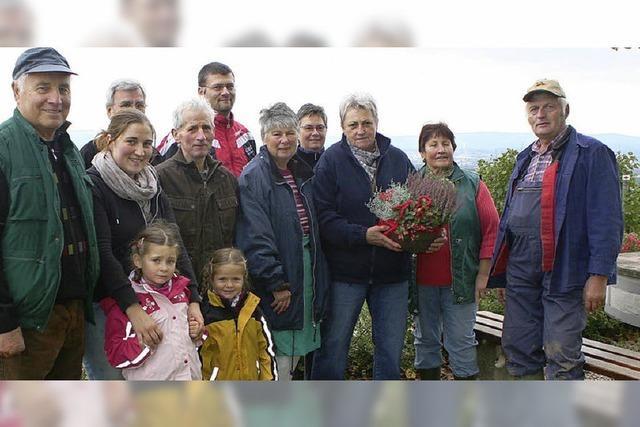 Anerkennung für 25 Jahre Herbsten