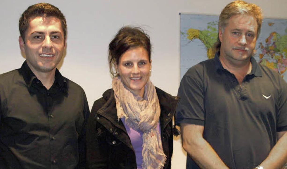 Neuer Kassierer der ABG ist Bernd Jägl...enführung Klaus Metzner ab (von links)  | Foto: Karin Stöckl-Steinebrunner