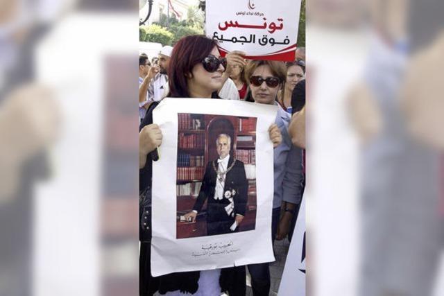 Kampf um die Zukunft Tunesiens