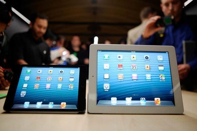 Apple startet kleineres iPad-Modell
