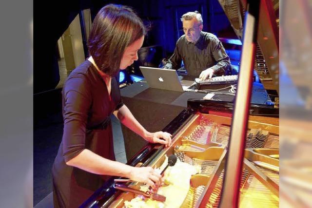 Konzertflügel + Laptopmusik