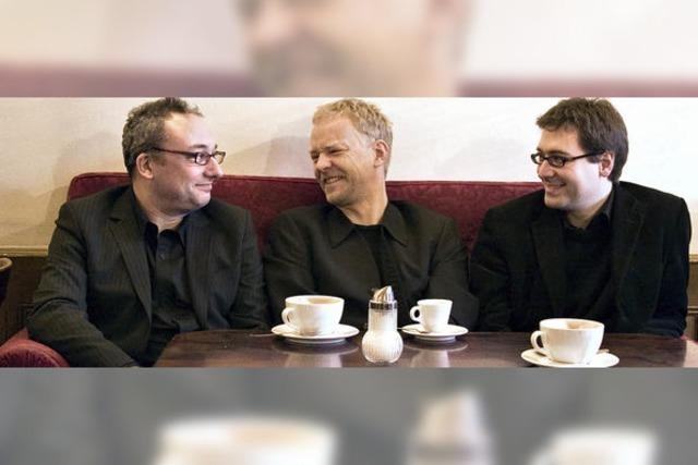 """""""Modern Jazz Trio"""" in der Kulturscheine Rabe in Kleinkems"""