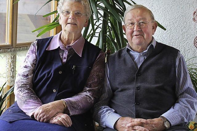Zwei Familienmenschen, die sich stark engagieren
