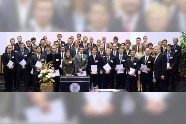 Rektor Schiewer eröffnet das 556. akademische Jahr an der Freiburger Uni
