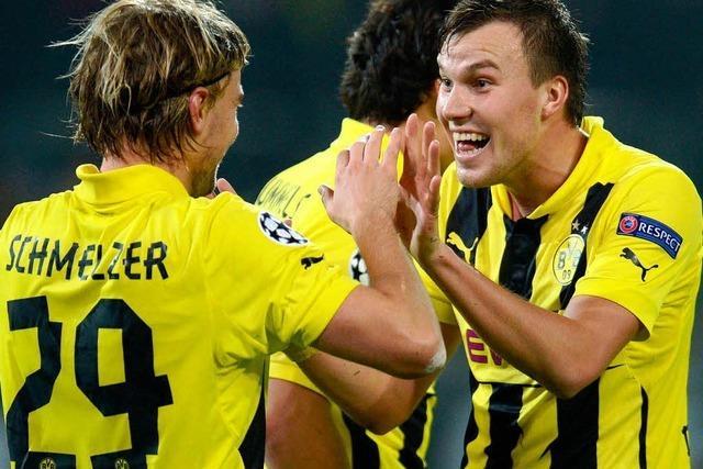 Dortmund bezwingt Real 2:1