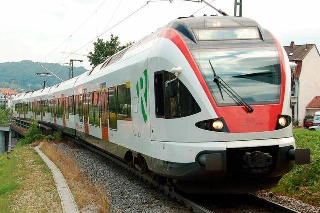 Kommt die S-Bahn von Lörrach nach Müllheim?