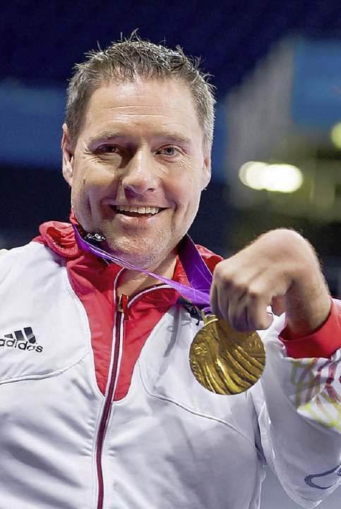 Paralympic-Sieger Jochen Wollmert gilt...er Favorit auf den nationalen Titel.    | Foto: dpa