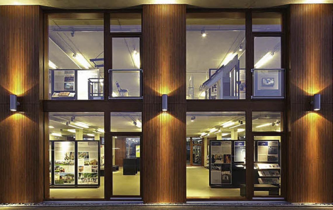 Das Bizzz: Modernes, nachhaltiges Baue... Architektur des Zentrums selbst aus.   | Foto: ZVG