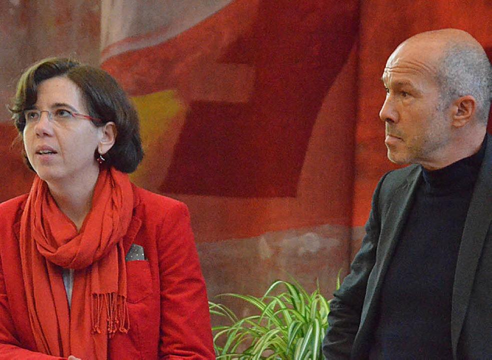 Anja Obermann und Joachim Fahrwald  | Foto: Ralf H. Dorweiler