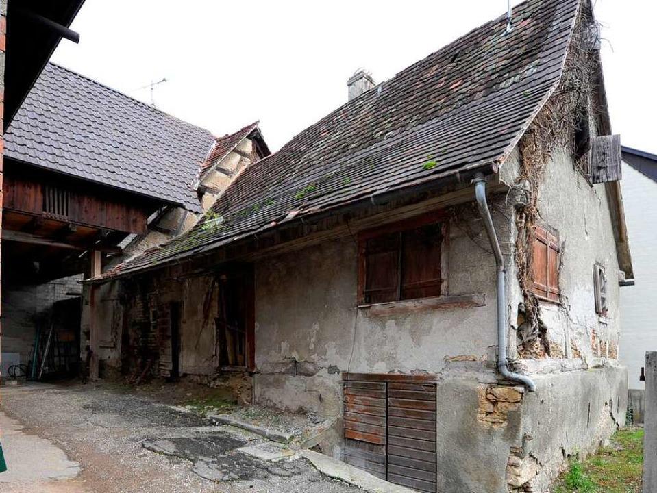 Verlassenes Haus am Benleweg in Freiburg-Waltershofen.  | Foto: Ingo Schneider