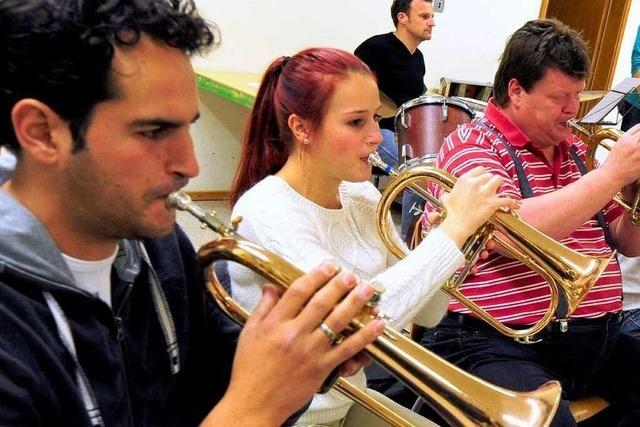 Der Musikverein Waltershofen