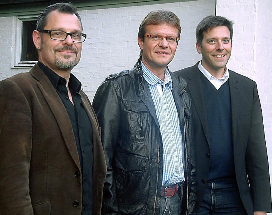Rainer Marbach, Herbert Deininger und Christoph Bogon (von links)  | Foto: Roswitha Frey