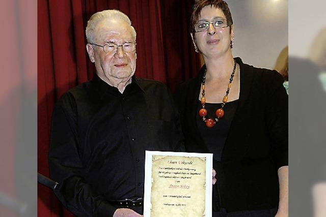 Anton Schey ist Ehrenmitglied