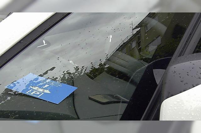 Rege Debatte um Parkraum