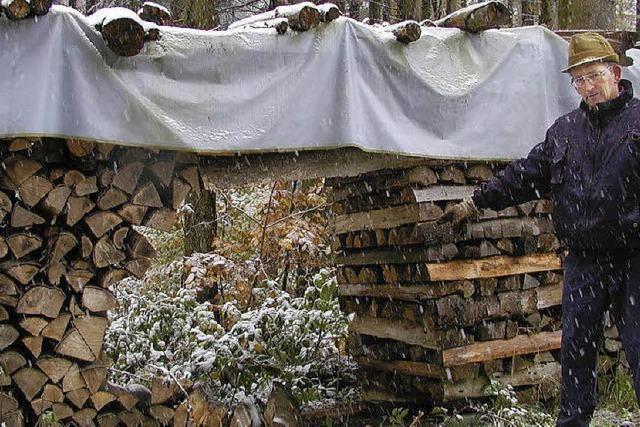 Der Holzklau geht um