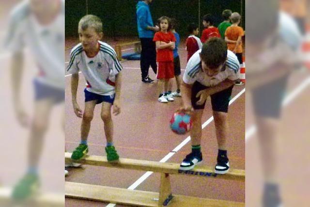 Handball steht bei Kleinen hoch im Kurs