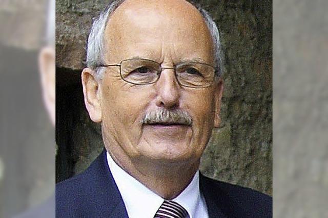 Ulrich Delhey bekommt Landesmedaille