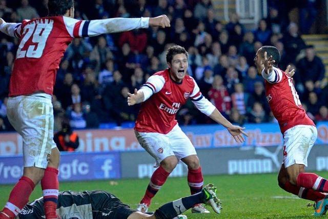 Besser als Schweden: 7:5 nach 0:4 - Arsenals irre Aufholjagd