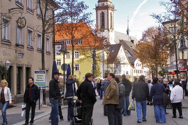Verkaufsoffener Sonntag mit Brettlemarkt in Titisee-Neustadt
