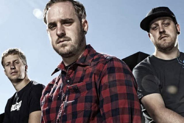 Hardcore-Band Stereodynamite spielt in Tiengen