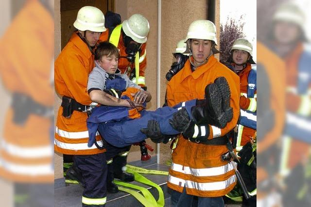 Auf die örtlichen Rettungskräfte in Wyhl ist Verlass