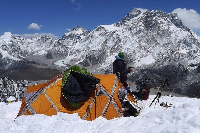 Das Abenteuer am Mount Everest