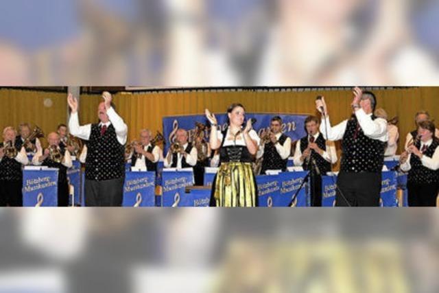 Die Bötzbergmusikanten trafen den Geschmack