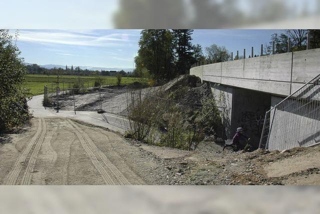 Stadt und IG Velo sehen im geplanten Radweg bei der Unterführung der Zollfreien eine Unfallstelle
