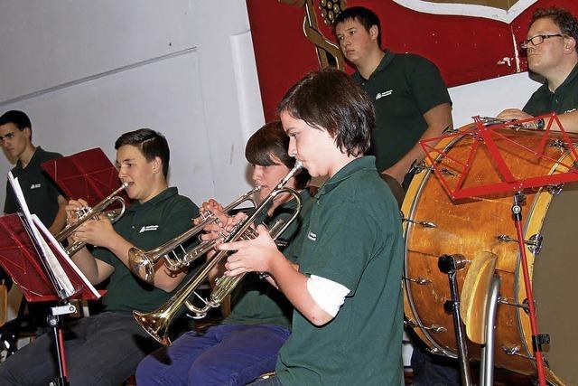 Konzert der Jugendkapellen