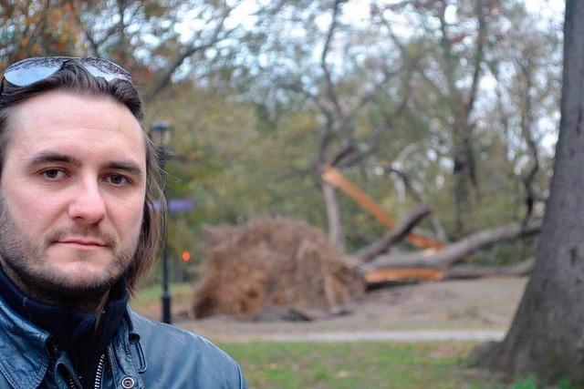 Hurrikan Sandy bietet viel Zeit für die Zweisamkeit
