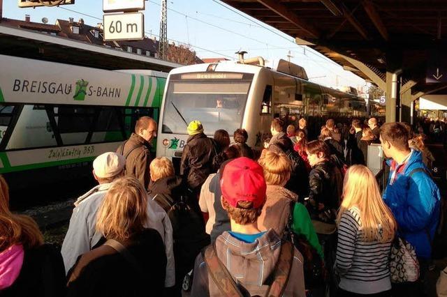 Breisgau-S-Bahn: Volle Züge, leere Kasse