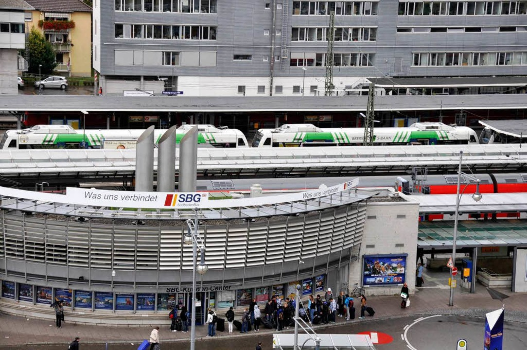 Das hohe Defizit der Breisgau-S-Bahn v...zu, die gemeinsame GmbH zu verlassen.   | Foto: Ingo Schneider