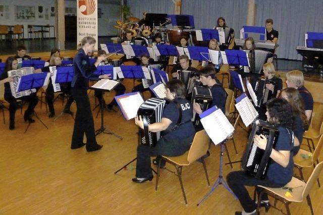 Künftige Meister ihres Instruments
