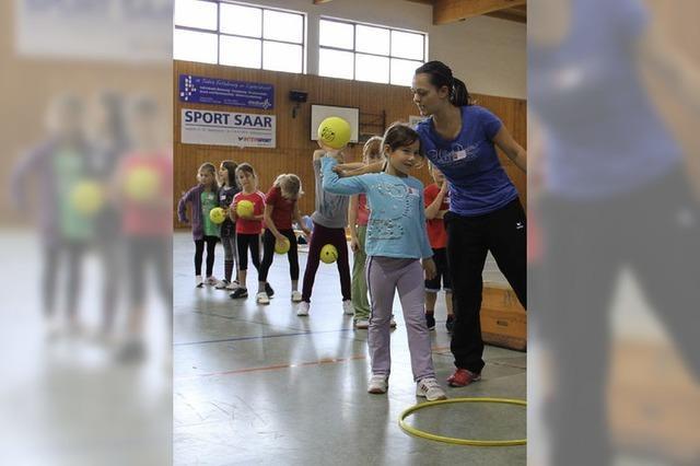 Junge Handballer sind hochmotiviert