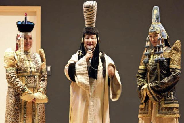 Schlager und mongolische Folklore