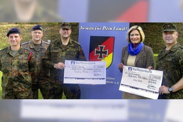 Hilfe für Soldatenfamilien