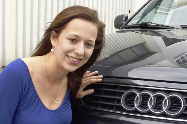 Sandra Reinbold aus Niederschopfheim ist preisgekrönte Kfz-Mechatronikerin