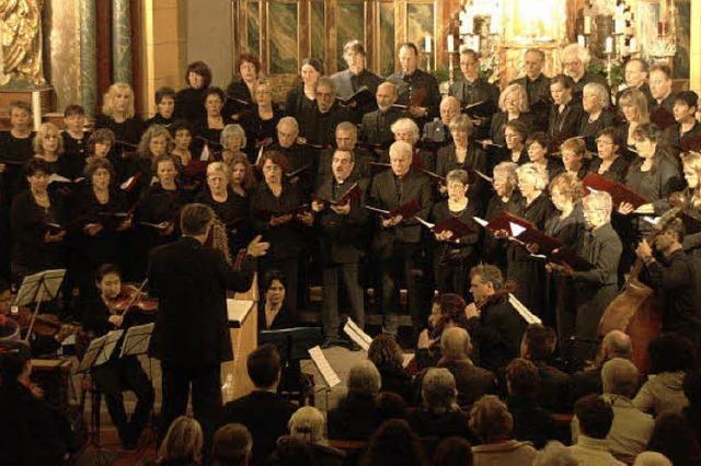 Geistliche Chormusik zum Jubiläum