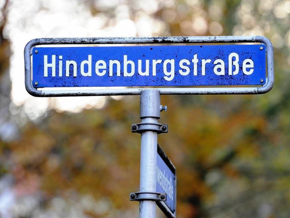 In Münster wurde der Hindenburgplatz unlängst umbenannt.  | Foto: Ingo Schneider