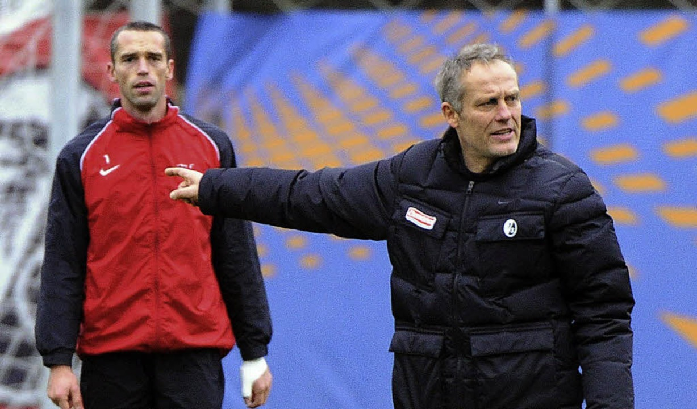 Auf die Dienste von Pavel Krmas (links...u Beginn der Saison nicht verzichten.   | Foto: heuberger