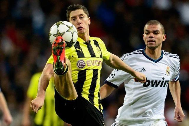 Champions League: Dortmund und Schalke spielen jeweils 2:2