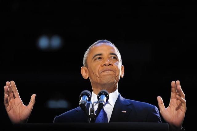 Obama beschwört Einheit des amerikanischen Volkes