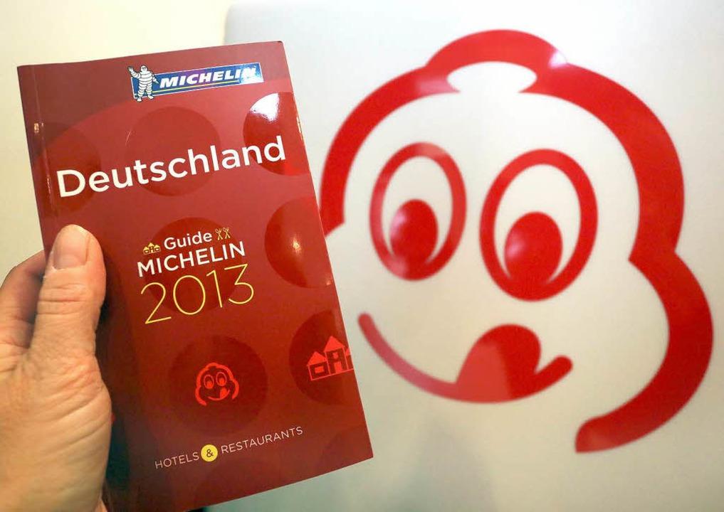 Die Feinschmecker-Bibel: Der Guide Michelin.    Foto: dpa