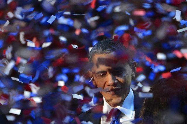 Obama kann weitere vier Jahre im Amt bleiben