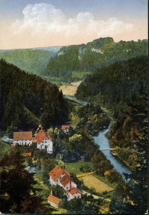 Der Kurort Bad Boll in seiner Blütezeit.   | Foto: Privat