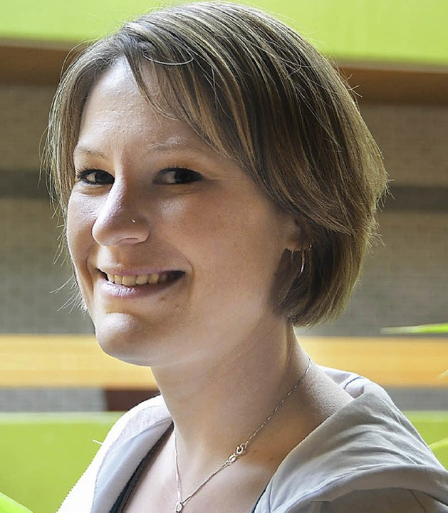 Schulsozialarbeiterin Bettina Sailer g...ymnasium Hilfestellung bei Problemen.   | Foto: valerie pin