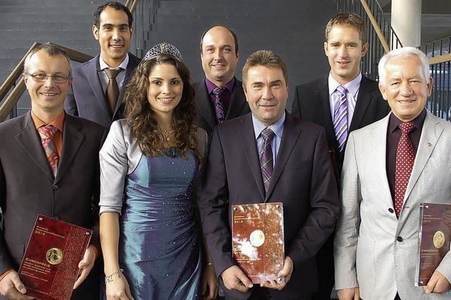 Sechs Ehrenpreise für die Winzer der Region
