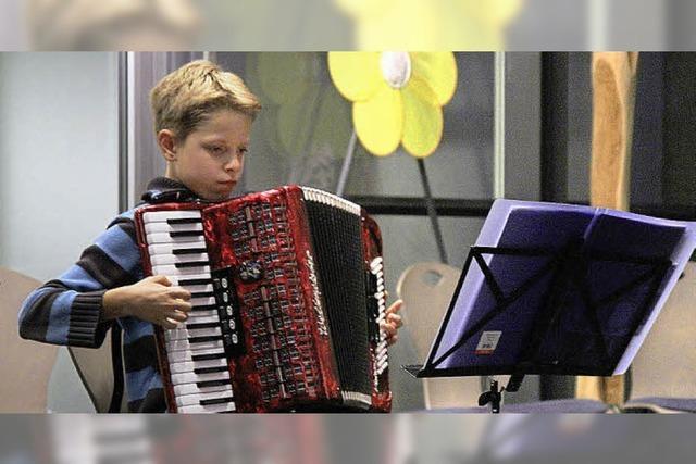 Kleine Musiker zeigen ihr Können