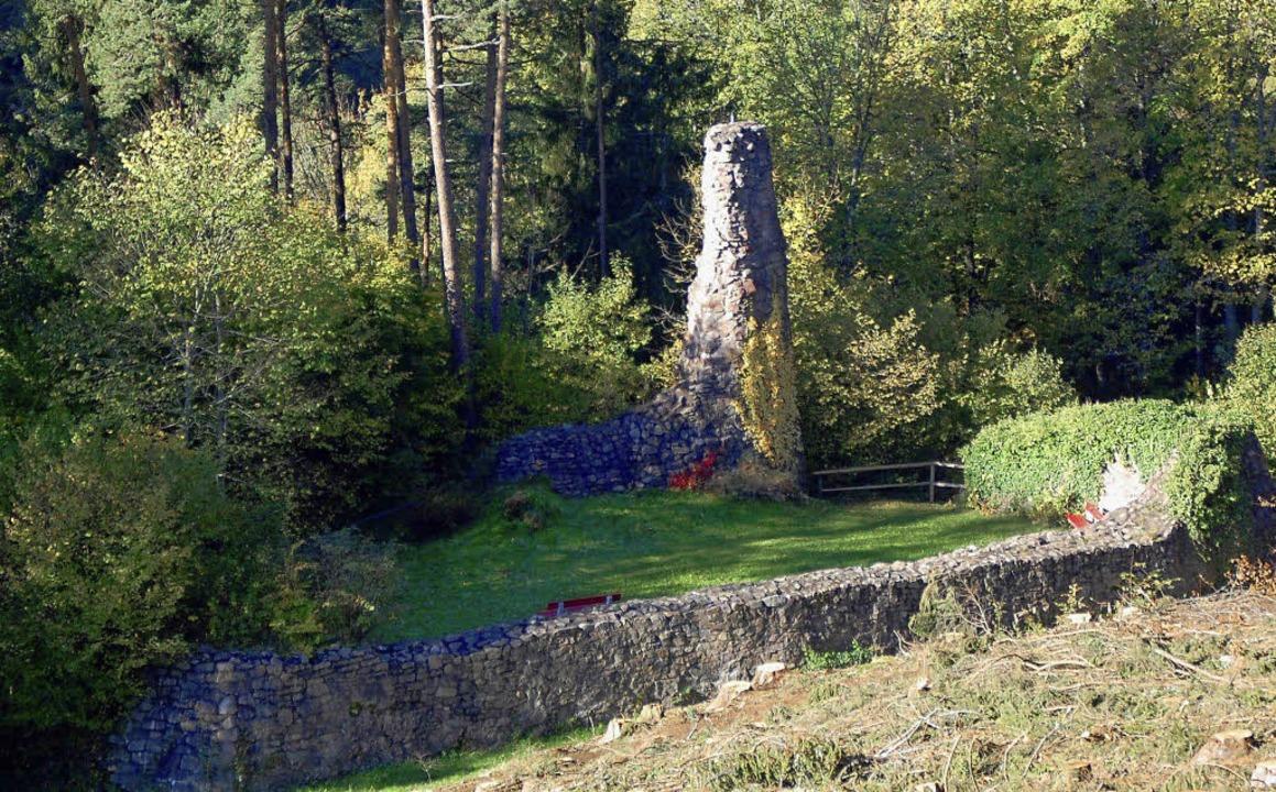 Ruine in Lenzkirch  | Foto: Manfred-G. Haderer