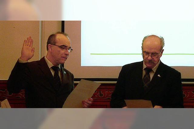 Roland Tibi ist Verbandsvorsitzender